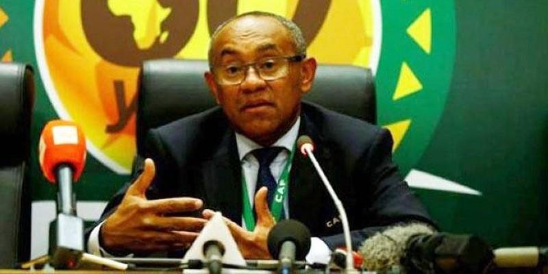 Ahmad Ahmad, président de la Caf. (DR)