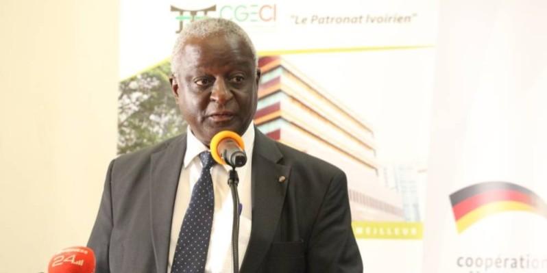 Claude Koutoua, président de la Commission Energie, Qualité, Hygiène, Sécurité et Environnement (E-QHSE) de la CGECI. (DR)
