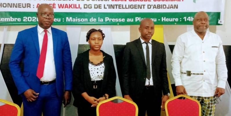 De gauche à droite, Jean-Claude Coulibaly, Rosine Anoh Kacou, Raymond Dibi et Alafé Wakili. (DR)