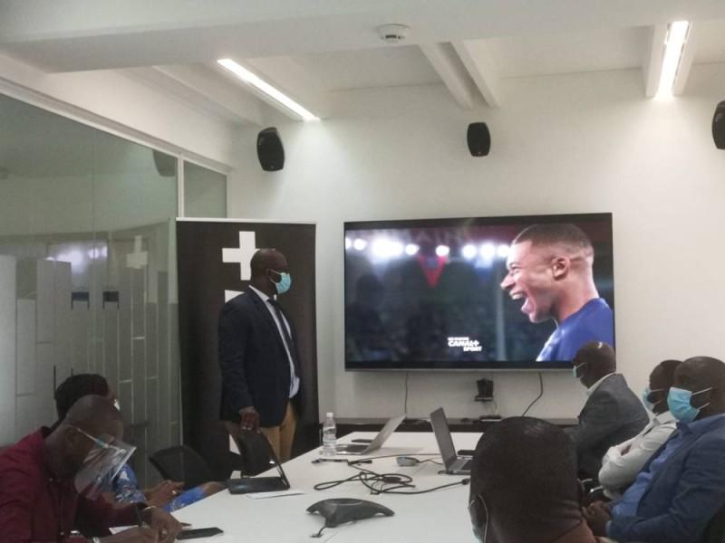 M. Aziz Diallo, dg de Canal+ Côte d'Ivoire (Ph: Salif D. CHEICKNA)