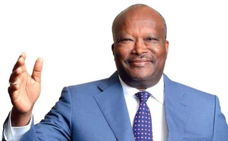 Roch Christian Kaboré au service de ses populations. (DR)