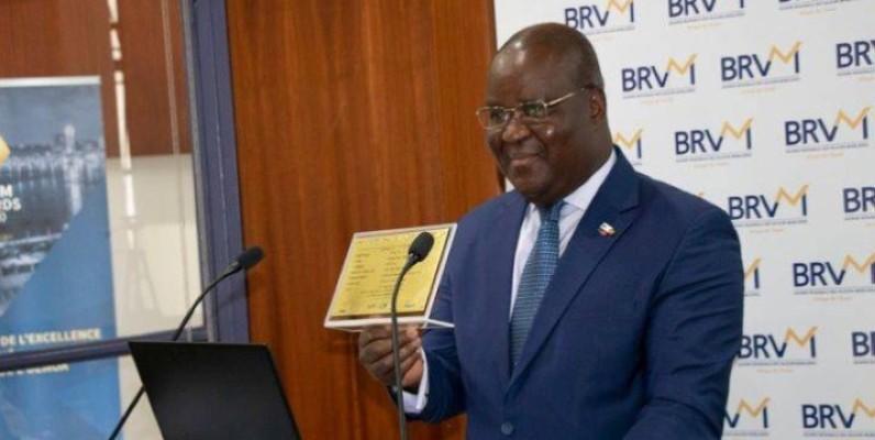 Dr Edoh Kossi Amenounvé, directeur général de la BRVM. (DR)