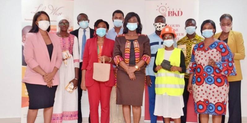 Les heureux finalistes du prix Bjkd. (DR)