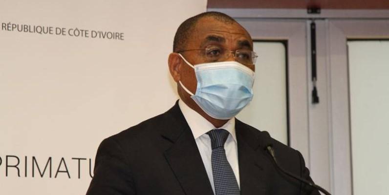 Adama Coulibaly, ministre de l'Économie et des Finances. (Joséphine Kouadio)