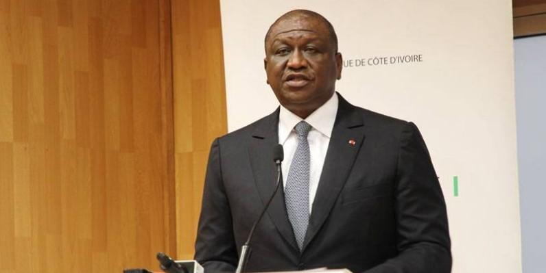 Le Premier ministre Hamed Bakayoko était face aux opérateurs économiques. (Joséphine Kouadio)