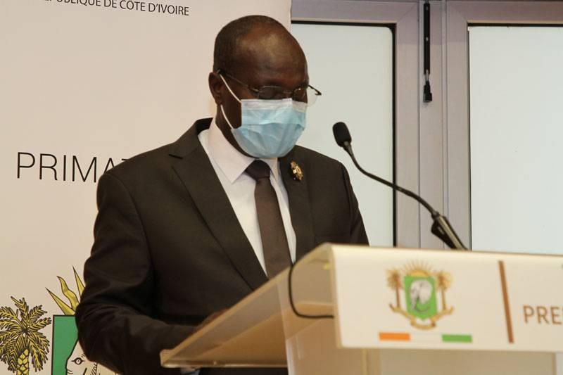 Touré Faman , président de la Chambre de Commerce et d'industrie de Côte d'Ivoire. (Joséphine Kouadio)