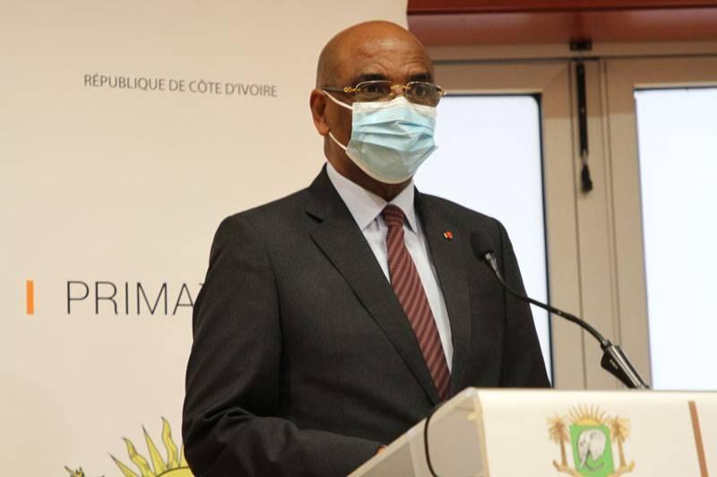 Le président de la Confédération générale des entreprises de Côte d'Ivoire, Jean-Marie Ackah. (Joséphine Kouadio)