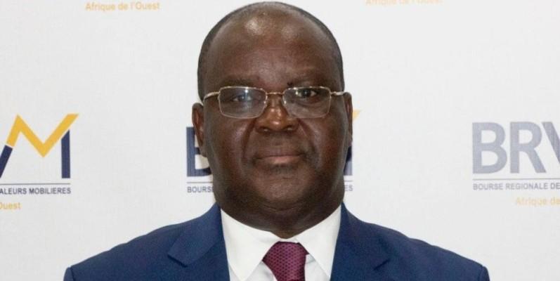 Edoh Kossi Amenounve, directeur général de la Brvm. (DR)