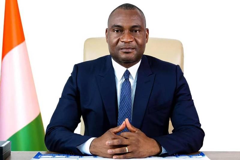 Kouakou Habonouan Louis, président du conseil d'administration de l'Office national de l'eau potable. (DR)