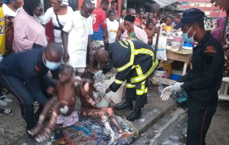 L'explosion d'une bouteille de gaz a fait plusieurs victimes (Gspm)