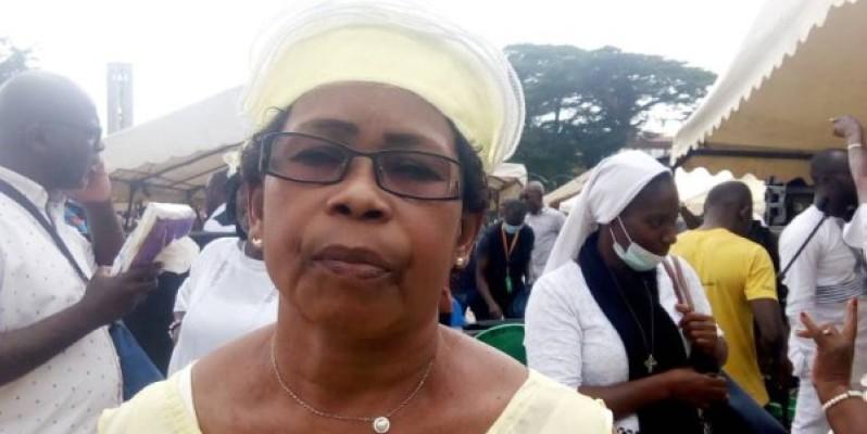 Mme Obeni Thérèse, ex-présidente de la Maîtrise de Yopougon. (Marie Ange Akpa)