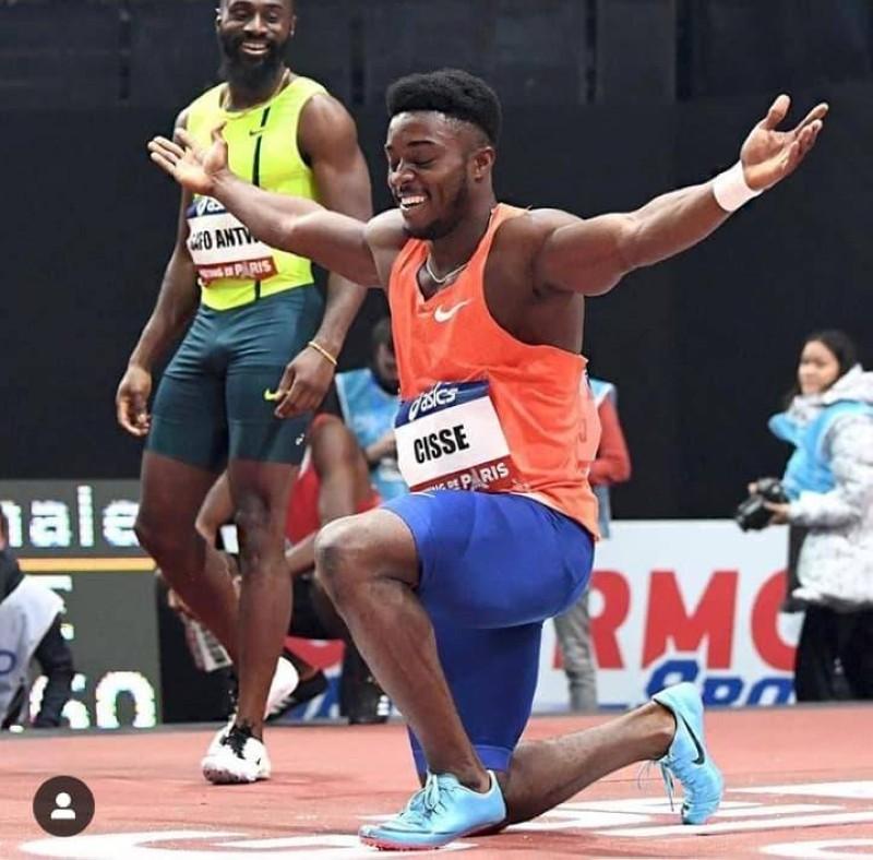 Le sprinteur ivoirien Cissé Arthur. (Dr)
