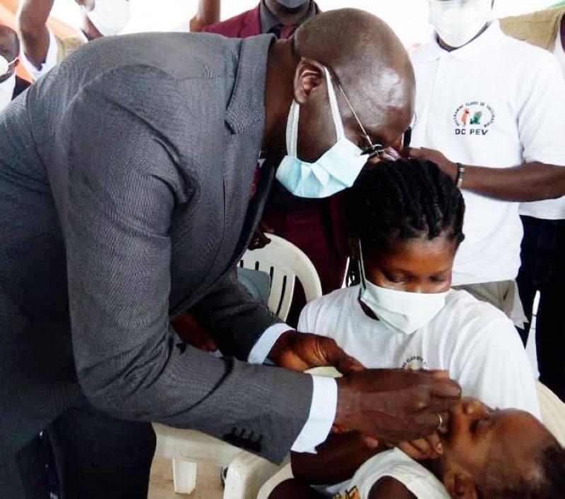 Cette campagne de vaccination concerne plus de 5 millions d'enfants de 0 à 5 ans. (DR)