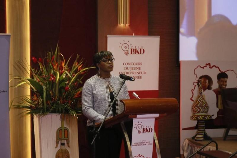 Olga Djadji, présidente de la Fondation Bjkd (Bavane)