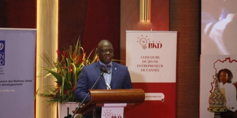 Jonas Mfoutié, reprsentant résident adjoint du Pnud en Côte d'Ivoire. (DR)