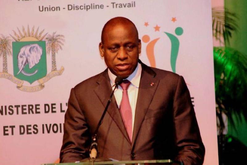 Le Ministre des Affaires Etrangères, Ally Coulibaly