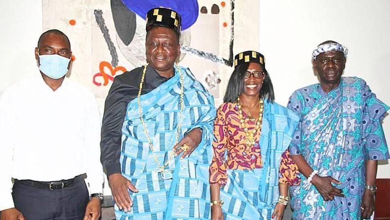 Des chefs du Grand centre ont rendu visite au Premier ministre Hamed Bakayoko. (DR)