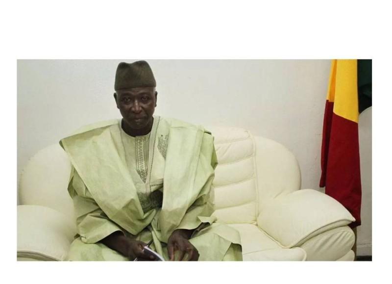Le président de transition du Mali
