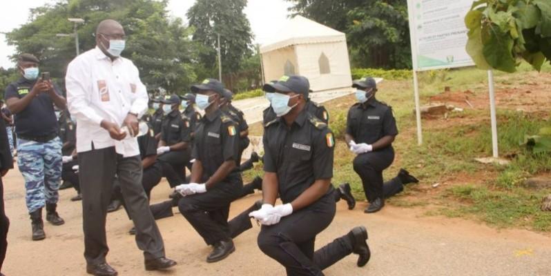 La police municipale de Bouaké enregistre de nouveaux agents. (DR)