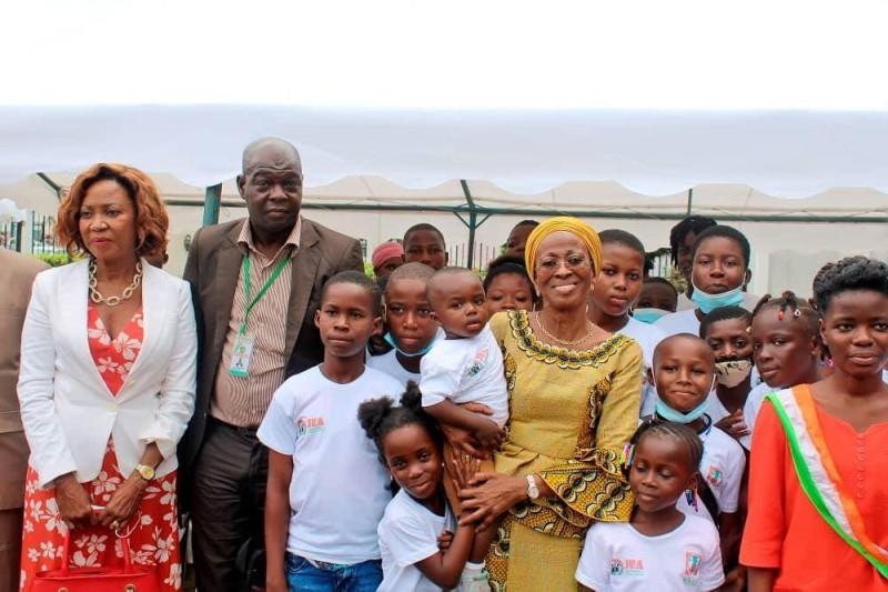Selon la ministre Bakayoko-Ly Ramata, le gouvernement s'emploie à ce que les enfants bénéficient d'une protection spéciale.(DR)