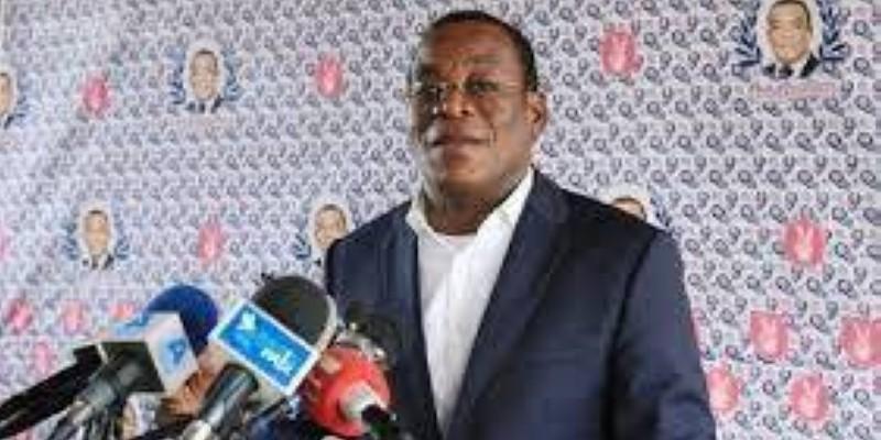 Le président du Front populaire ivoirien (Fpi), Pascal Affi N'Guessan. (DR)