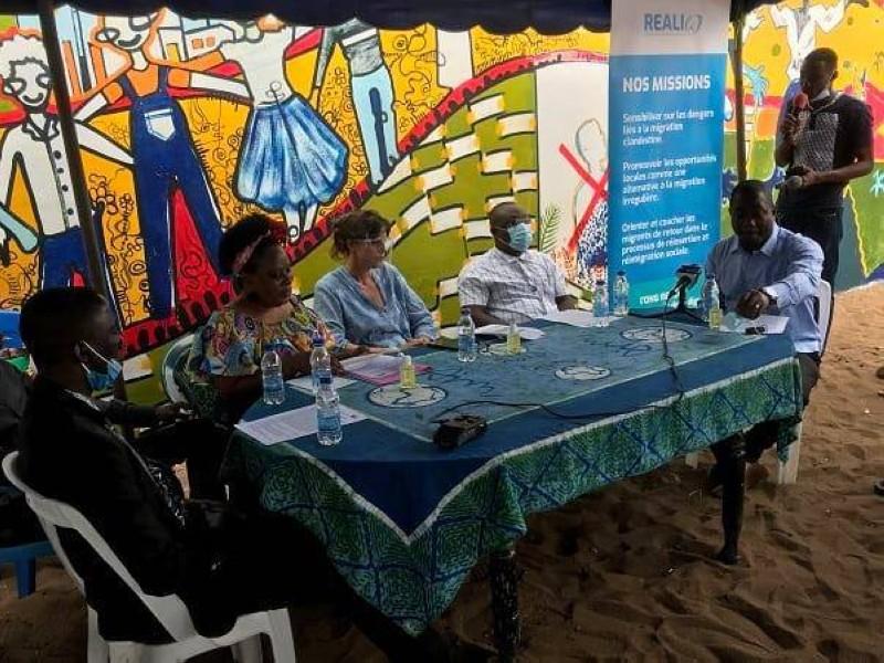 Des jeunes instruits sur les dangers de la migration clandestine (DR)