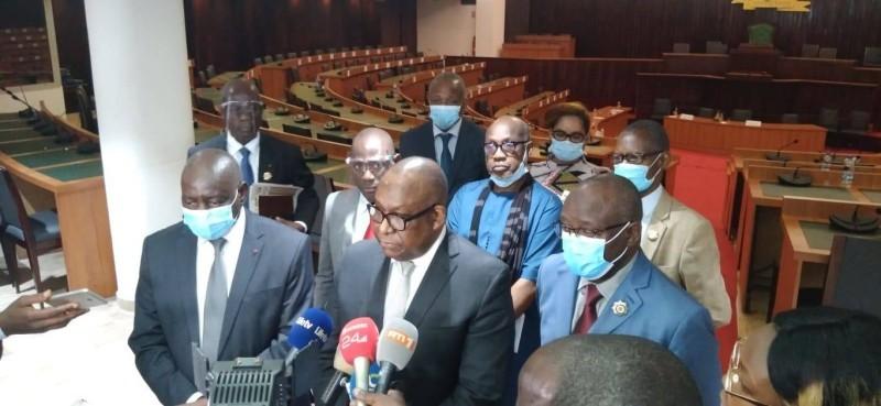 Me René Bourgoin, Président de Haca a réussi son oral face aux parlementaires (DR)