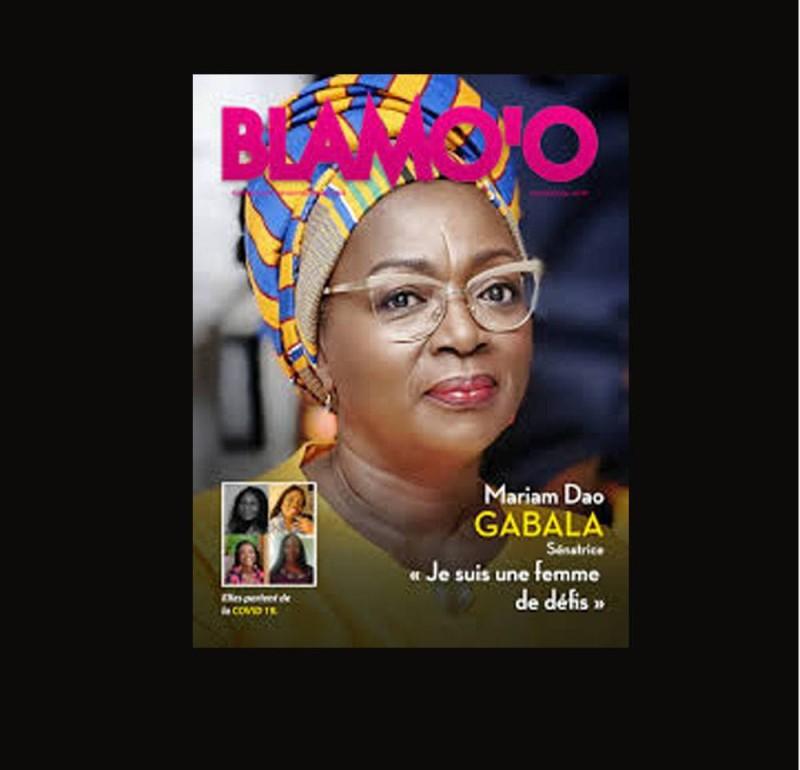 La UNE du magazine BLAMO'O