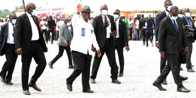 Le Président Alassane Ouattara invite les jeunes à penser à leur avenir. (DR)