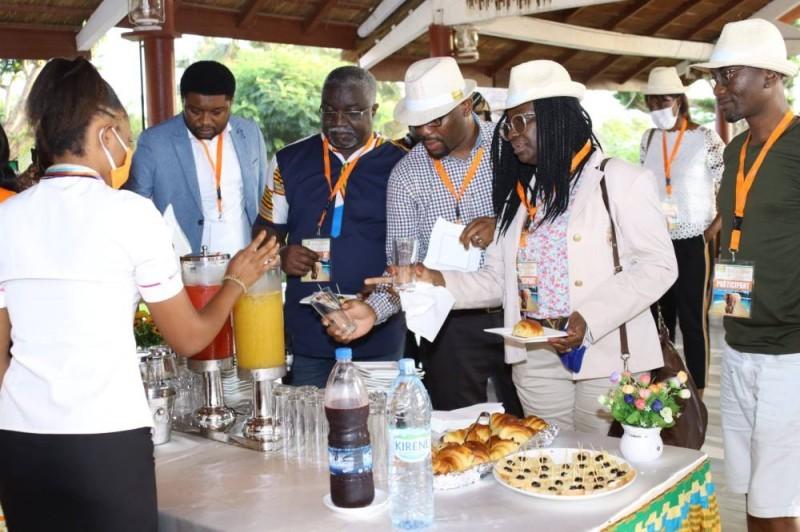 Les personnalités d'influence, invitées de Côte d'Ivoire Tourisme vont à la découverte des sites touristiques du sud-ouest. (DR)