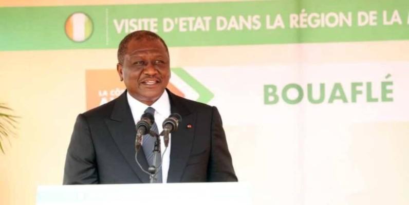 Hamed Bakayoko, Premier ministre de Côte d'Ivoire. (DR)