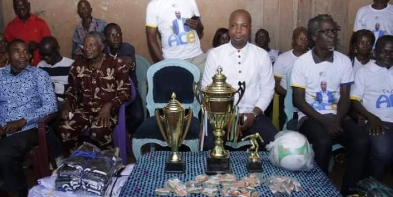 Seize équipes des villages du canton Tchoyasso qui compte les sous-préfectures de Bécédi-Brignan, de Yakassé-Mé et d'Agou, étaient en compétition. (Dr)