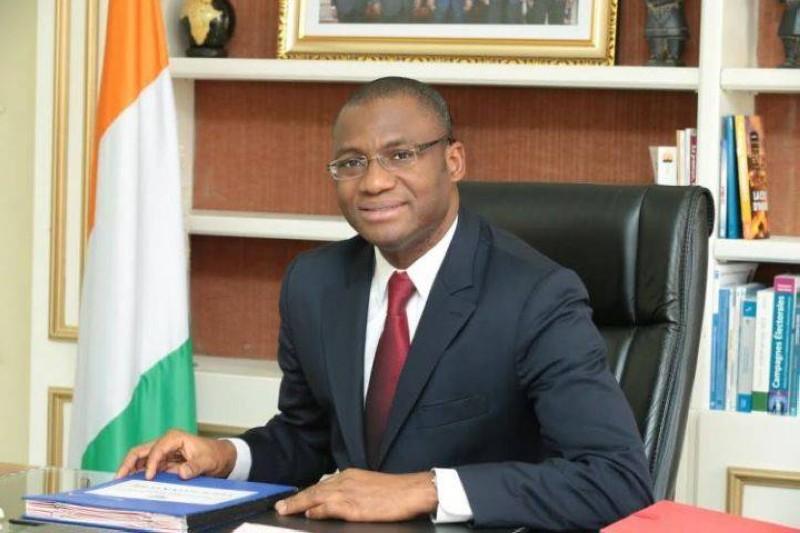 Le ministre de la Communication et des médias, Sidi Tiémoko Touré (DR)