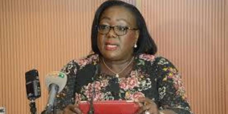 Anne ouloto, présidente du conseil régional du Cavally. (DR)