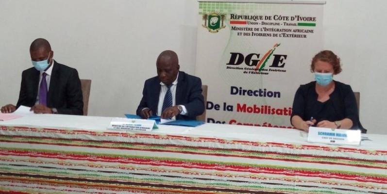 Le ministre de l'Intégration africaine et des Ivoiriens de l'extérieur, Albert Flindé, a présidé la cérémonie d'ouverture de l'atelier. (DR)
