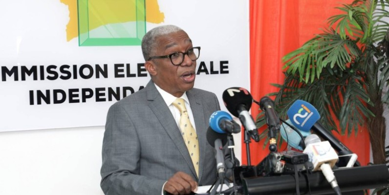 Le porte-parole de la Cei, Émile Ebrottié. (DR)