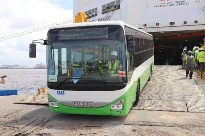 La Sotra débutera progressivement par 5 grandes lignes qui traverseront toute la ville de Bouaké avec plus de 100 arrêts. (Dr)