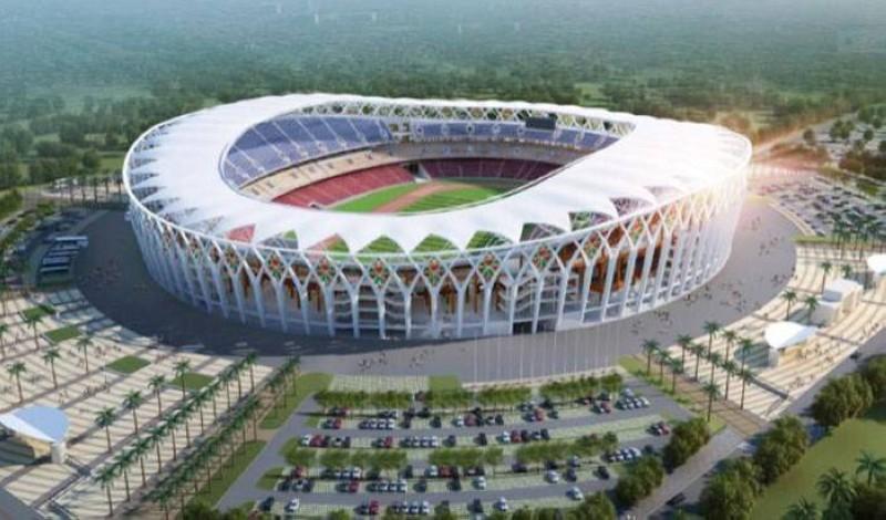 Le stade Olympique d'Ebimpé inauguré ce samedi par un derby Asec-Africa. (DR)