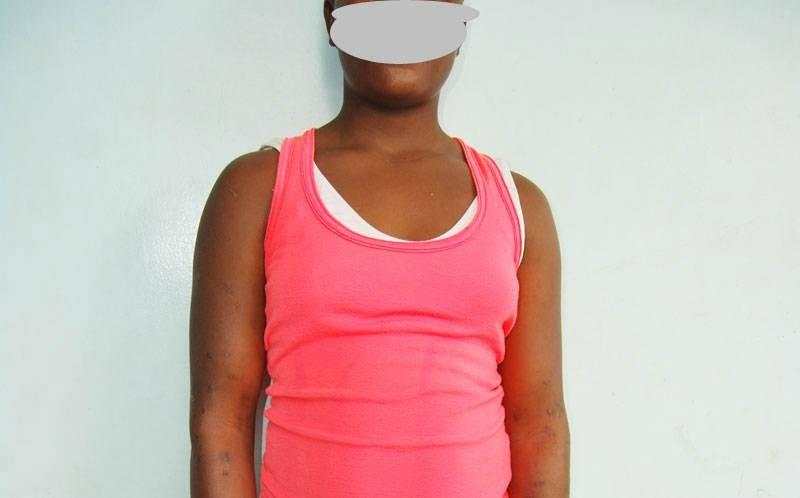 Une adolescente victime d'abus sexuel. (DR)