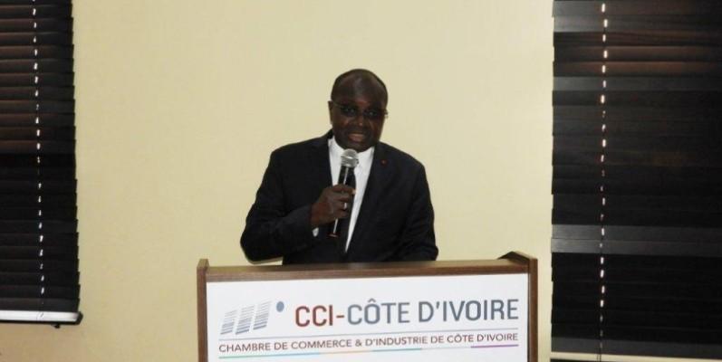 Le président de la Cci-ci, Faman Touré. (DR)