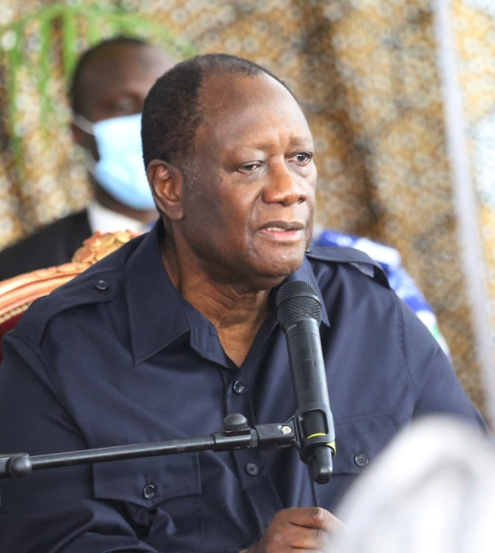 Le Président Alassane Ouattara a parlé à cœur ouvert, hier, à Korhogo...