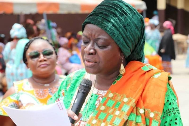 Massandjé Touré Litsé, présidente des femmes du Rhdp de la Bagoué (DR)