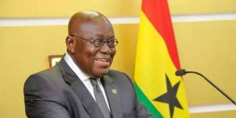 Le Chef de l'État ghanéen, Nana Akufo-Addo, président en exercice de la Cedeao. (Dr)