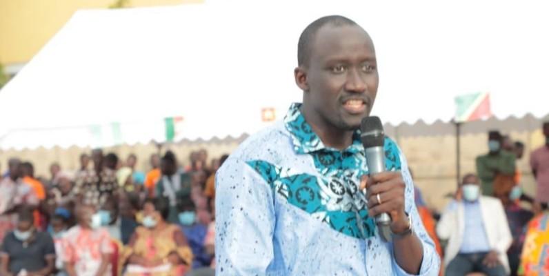 Le ministre du Pétrole, de l'Énergie et des Énergies renouvelables, Abdourahmane Cissé. (Dr)