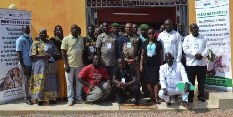 Pour les acteurs, l'autre objectif à atteindre est de contribuer à la reconstitution du couvert forestier ivoirien en détournant les acteurs locaux du sciage et de la coupe sauvage du bois. (DR)
