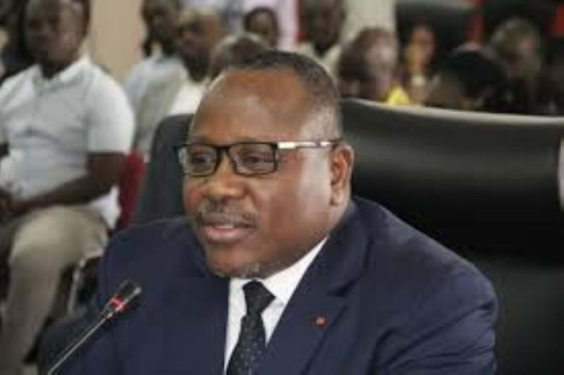Le président de la Commission électorale indépendante (Cei), Ibrahime Coulibaly-Kuibiert. (DR)