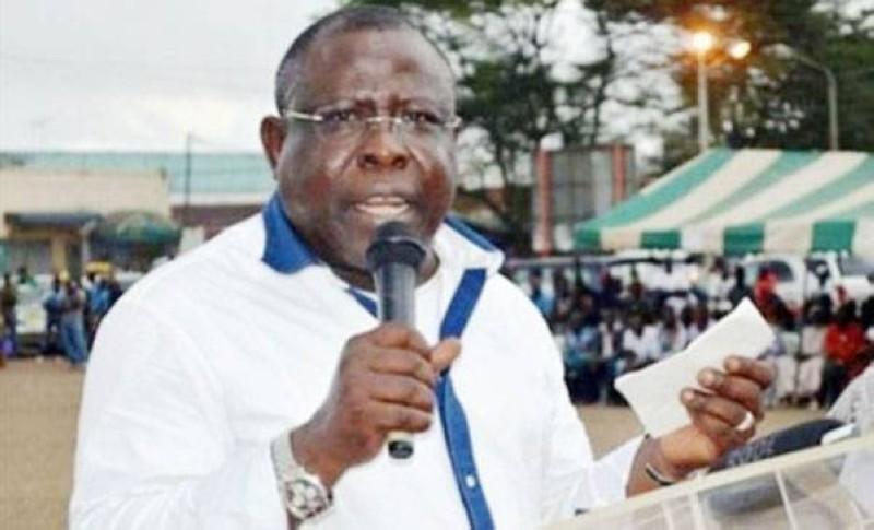 Cissé Bacongo, maire de Koumassi, invite à la paix. (DR)