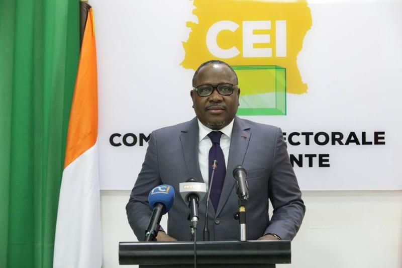 M COULIBALY-KUIBIERT IBRAHIME, Président de la Commission Electorale Indépendante (DR)
