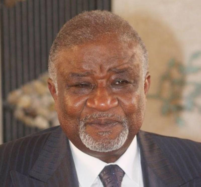 Le président Victor Ekra est décédé le mardi 13 octobre. (DR)