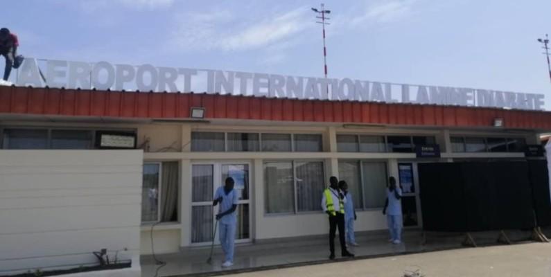 Une vue de l'aéroport d'Odienné qui porte l'illustre nom de Lamine Diabaté. (Photos : Dr)